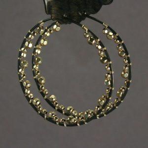 blackhoopsgoldbeads