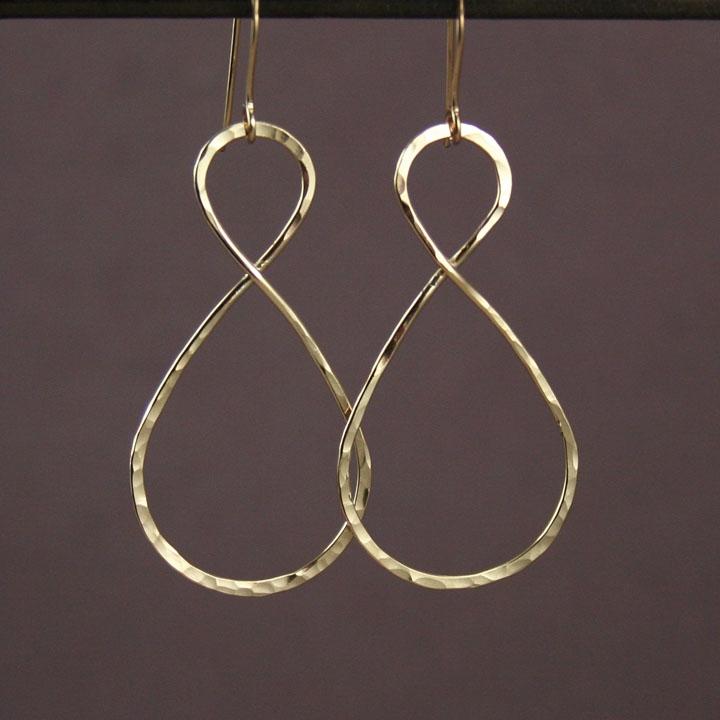gold infinity earrings 187 gosia meyer jewelry