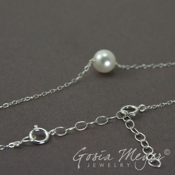Necklace chain extender silver or gold chain extender 187 gosia meyer