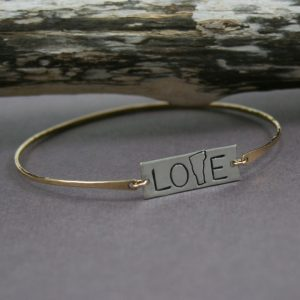 Vermont_love_bracelet_gold_and_silver