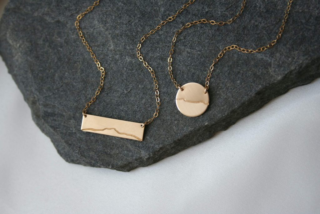 Vermont Mountain Necklaces